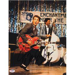 "Michael J. Fox Signed ""Back to the Future"" 11x14 Photo (PSA COA)"