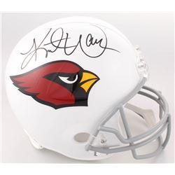 Kurt Warner Signed Arizona Cardinals Full-Size Helmet (Warner Hologram  Radtke COA)