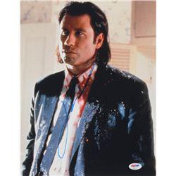 "John Travolta Signed ""Pulp Fiction"" 11x14 Photo (PSA COA)"