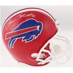 "Thurman Thomas Signed Buffalo Bills Full-Size Throwback Helmet Inscribed ""HOF 07"" (Radtke COA)"