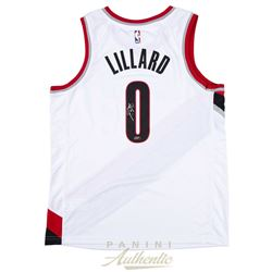 Damian Lillard Signed Portland Trail Blazers Nike Jersey (Panini COA)
