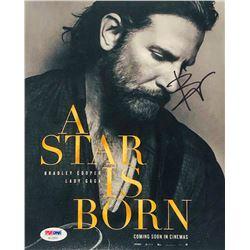 "Bradley Cooper Signed ""A Star Is Born"" 8x10 Photo (PSA COA)"