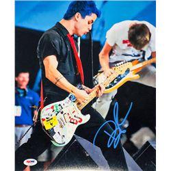 Billie Joe Armstrong Signed Green Day 11x14 Photo (PSA Hologram)