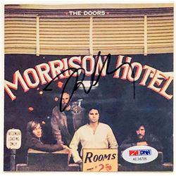 """Robby Krieger Signed """"Morrison Hotel"""" CD Cover (PSA COA)"""