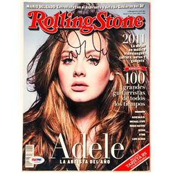 Adele Signed 2012 Rolling Stone Magazine (PSA LOA)