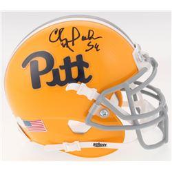 Chris Doleman Signed Pittsburgh Panthers Throwback Mini Helmet (Radtke COA)