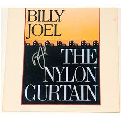 "Billy Joel Signed ""The Nylon Curtain"" Vinyl Album Cover (PSA COA)"
