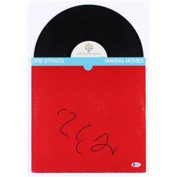 "Mark Knopfler Signed ""Dire Straits"" Vinyl Record Album (Beckett COA)"