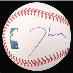 Thomas Jane Signed OML Baseball (Beckett COA)