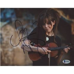 Lindsey Stirling Signed 8x10 Photo (Beckett COA)