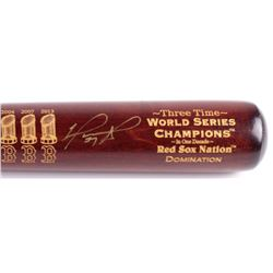 "David Ortiz Signed LE Boston Red Sox ""3X W.S.C."" Engraved Louisville Slugger Baseball Bat (Steiner C"