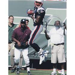 Randy Moss Signed New England Patriots 11x14 Photo (PSA COA)