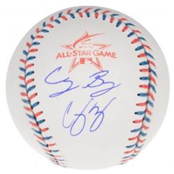 Corey Seager  Cody Bellinger Signed Official 2017 All-Star Game Baseball (Fanatics Hologram)