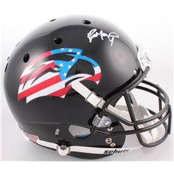 Brett Favre Signed Southern Miss Golden Eagles Full-Size Helmet (Radtke COA)