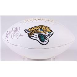 Jimmy Smith Signed Jacksonville Jaguars Logo Football (Jersey Source COA)