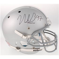 Nick Bosa Signed Ohio State Buckeyes Full-Size Helmet (JSA COA)