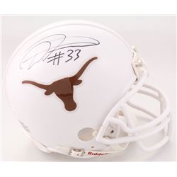 D'Onta Foreman Signed Texans Longhorns Mini Helmet (JSA COA)