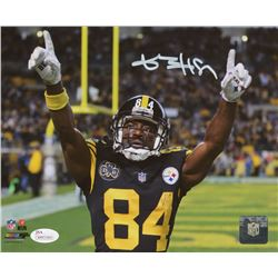 Antonio Brown Signed Pittsburgh Steelers 8x10 Photo (JSA COA)