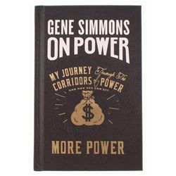 """Gene Simmons Signed """"On Power: My Journey Through the Corridors of Power and How You Can Get More Po"""