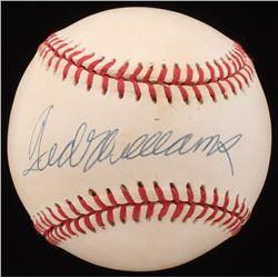 Ted Williams Signed OAL Baseball (UDA COA)