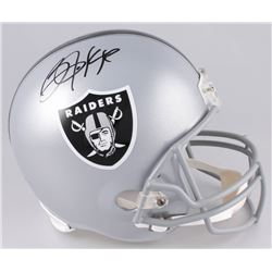 Bo Jackson Signed Oakland Raiders Full-Size Helmet (Radtke COA  Jackson Hologram)