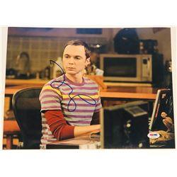 "Jim Parsons Signed ""The Big Bang Theory"" 11x14 Photo (PSA COA)"