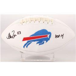 "Andre Reed Signed Buffalo Bills Logo Football Inscribed ""HOF 14"" (Radtke COA)"