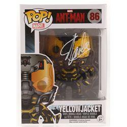 "Stan Lee Signed ""Yellow Jacket"" #86 Funko Pop Vinyl Figure (Radtke COA  Lee Hologram)"