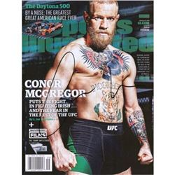 Conor McGregor Signed Sports Illustrated Magazine (Fanatics Hologram)