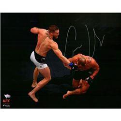 """Conor McGregor Signed """"UFC 205 Alvarez KO"""" 16x20 Photo (Fanatics Hologram)"""