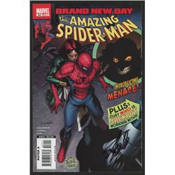 "Stan Lee Signed 2008 ""The Amazing Spiderman"" Issue #550 Marvel Comic Book (Lee COA)"