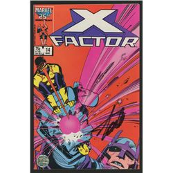 "Stan Lee Signed 1987 ""X-Factor"" Issue #14 Marvel Comic Book (Lee COA)"