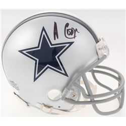 Amari Cooper Signed Dallas Cowboys Mini-Helmet (JSA COA)