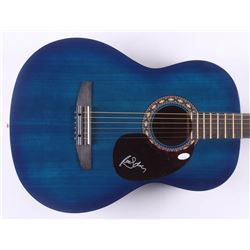 "Randy Owen Signed 39"" Rogue Acoustic Guitar (JSA COA)"