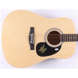 Mark Hoppus Signed Full-Size Acoustic Guitar (PSA COA)