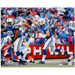 "Andrew Luck Signed Indianapolis Colts ""Release"" 16x20 Limited Edition Photo (Panini COA)"