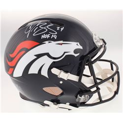 "Champ Bailey Signed Denver Broncos Full-Size Authentic On-Field Speed Helmet Inscribed ""HOF 19"" (JSA"