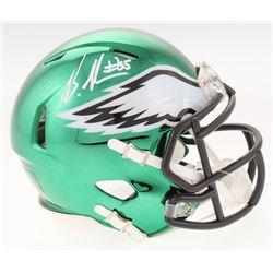 Brandon Graham Signed Philadelphia Eagles Chrome Speed Mini-Helmet (Radtke COA)