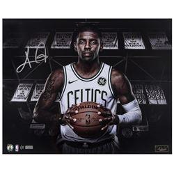 "Kyrie Irving Signed LE Boston Celtics ""New Chapter"" 16x20 Photo (Panini COA)"