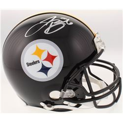 Le'Veon Bell Signed Pittsburgh Steelers Full-Size Authentic On-Field Helmet (JSA COA)