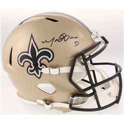 Manti Te'o Signed New Orleans Saints Full-Size Speed Helmet (Radtke COA)
