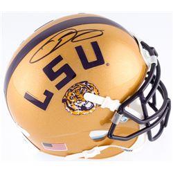 Odell Beckham Jr. Signed LSU Tigers Mini Helmet (JSA COA)