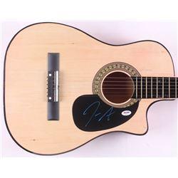 """Jimmie Allen Signed 38"""" Acoustic Guitar (PSA COA)"""