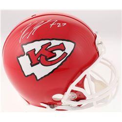 Kareem Hunt Signed Kansas City Chiefs Full-Size Authentic On-Field Helmet (JSA COA)