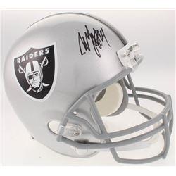 Marshawn Lynch Signed Oakland Raiders Full-Size Helmet (Radtke COA)