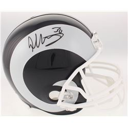 Todd Gurley Signed Los Angeles Rams Full-Size Helmet (Radtke COA)