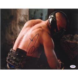 """Tom Hardy Signed """"The Dark Knight Rises"""" 11x14 Photo (PSA COA)"""