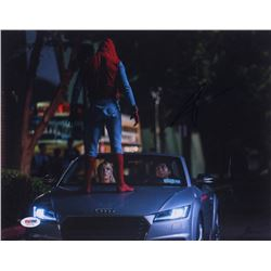 """Tom Holland Signed """"Spider-Man"""" 11x14 Photo (PSA Hologram)"""