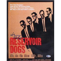 "Harvey Keitel Signed ""Reservoir Dogs"" 11x14 Photo (Beckett COA)"