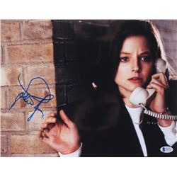 """Jodie Foster Signed """"The Silence of the Lambs"""" 11x14 Photo (Beckett COA)"""